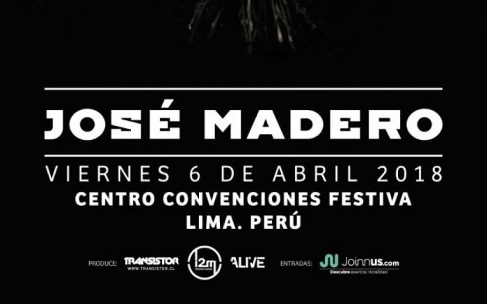 JOSE MADERO EN LIMA /  / Joinnus