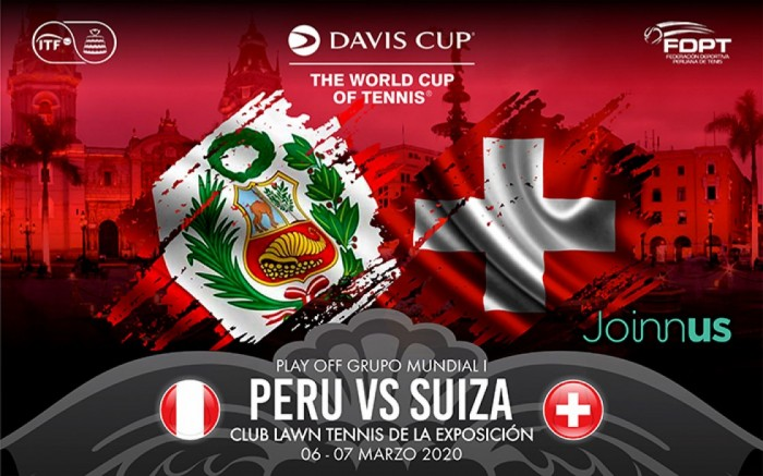 Copa Davis: Play Off Grupo Mundial I Perú vs. Suiza