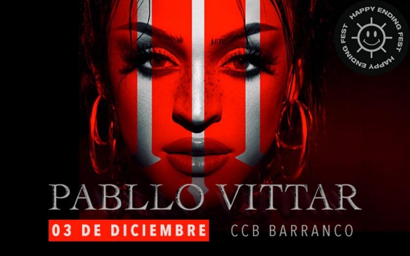 Happy Ending presenta: Pabllo Vittar en Lima
