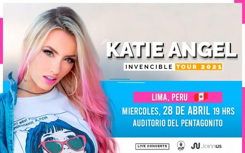 Katie Angel - Invencible World Tour 2021