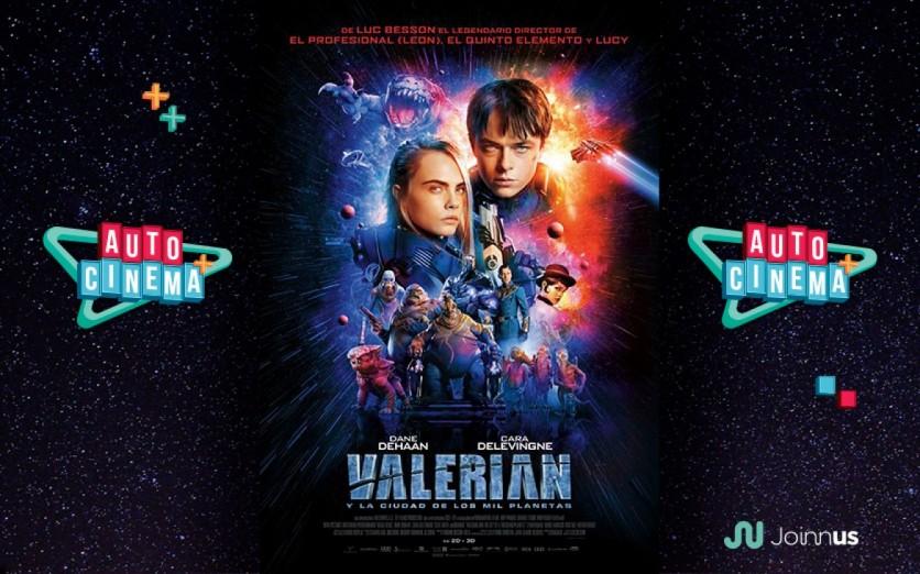 Valerian y La Ciudad de Los Mil Planetas (subtitulada)