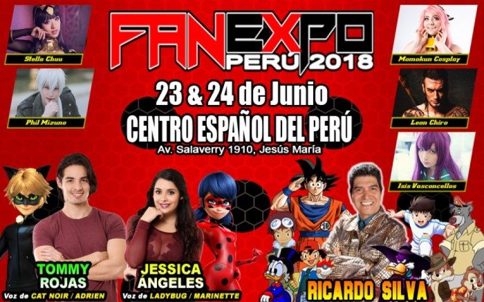 Fan Expo Peru 2018 /  / Joinnus