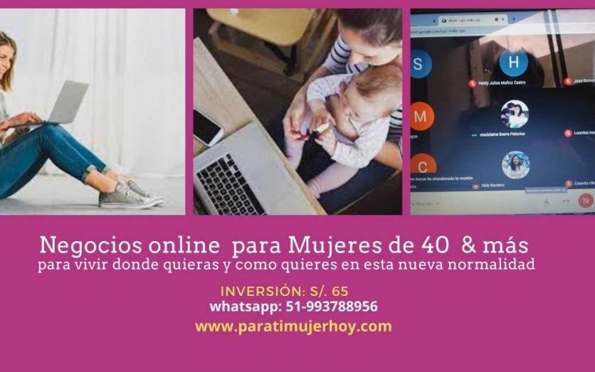 Negocios Digitales para Mujeres de 40 & más