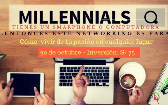 Negocios digitales para Millennials y vivir donde quieras