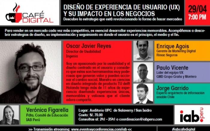 Primer Café Digital del IAB Perú /  / Joinnus