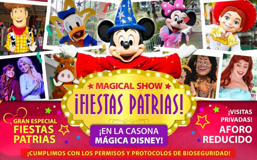 ¡MAGICAL SHOW GRAN ESPECIAL DE FIESTAS PATRIAS!