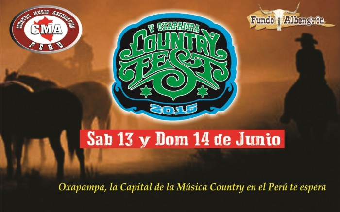V OXAPAMPA COUNTRY FEST 2015 /  / Joinnus