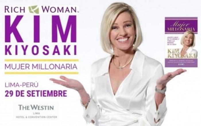 Kim Kiyosaki, Mujer Millonaria