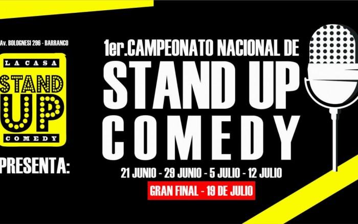 Campeonato Nacional de Stand up comedy 2018 /  / Joinnus