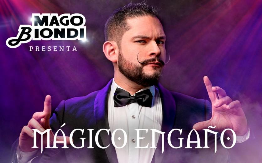 "Mago Biondi presenta: ""Mágico Engaño"""
