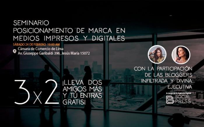 Seminario 100% vivencial de Marketing y PR Digital / Charlas y conferencias / Joinnus