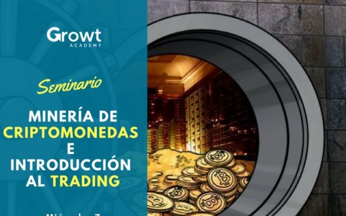SeminarioONLINE Minería de Bitcoin e Introducción al Trading /  / Joinnus