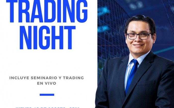 TRADING NIGHT seminario y trading en vivo /  / Joinnus