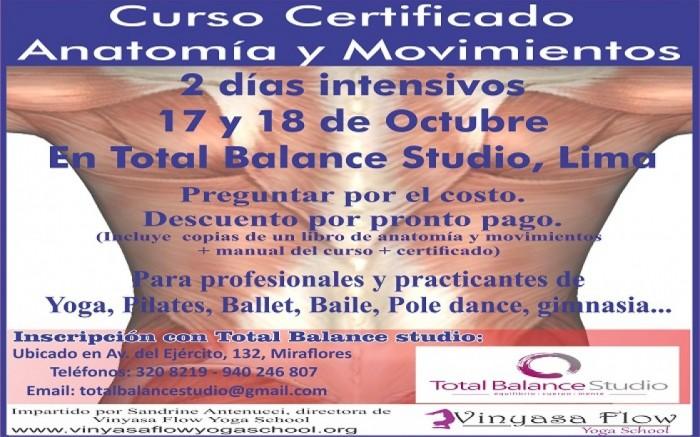 Curso Certificado de Anatomía y Movimientos | | Joinnus