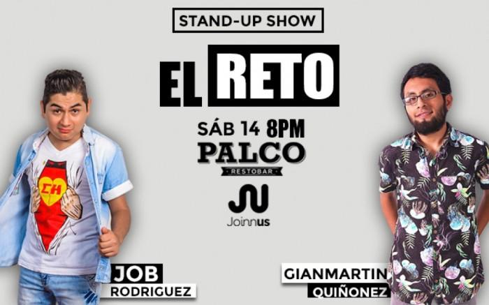 "STAND-UP COMEDY ""EL RETO"""