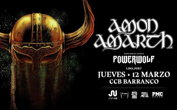 Amon Amarth & Powerwolf en Lima