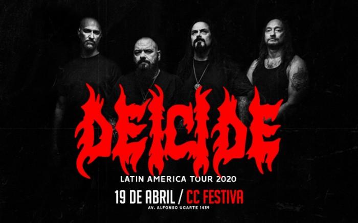 Deicide en Lima