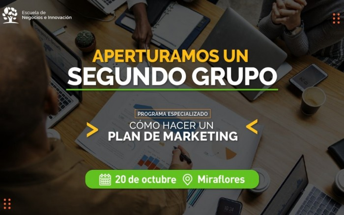 PLAN DE MARKETING | Programa especializado /  / Joinnus