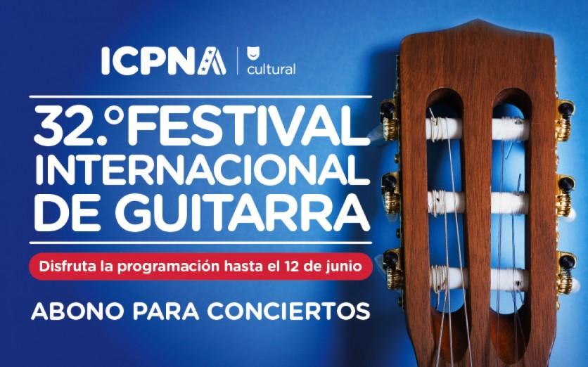 ABONO PARA CONCIERTOS | FESTIVAL INTERNACIONAL DE GUITARRA