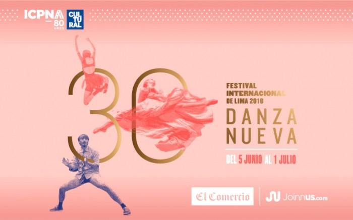 30 DANZA NUEVA: Festival Internacional de Lima 2018 /  / Joinnus