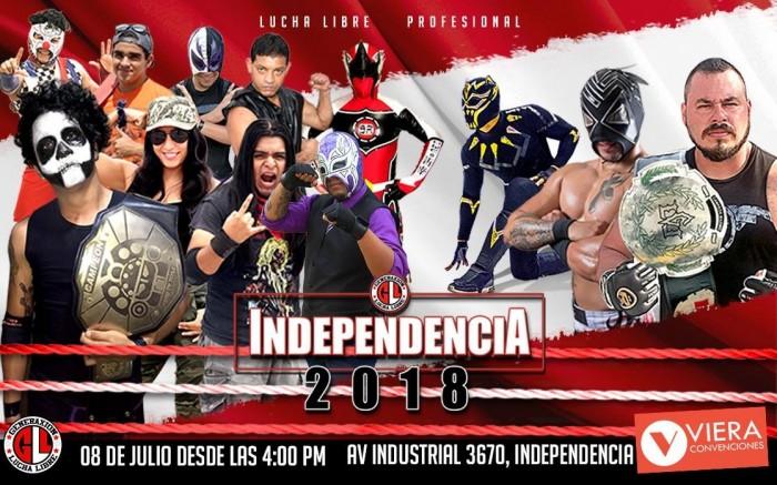 GeneraXión Lucha Libre - Independencia 2018 /  / Joinnus