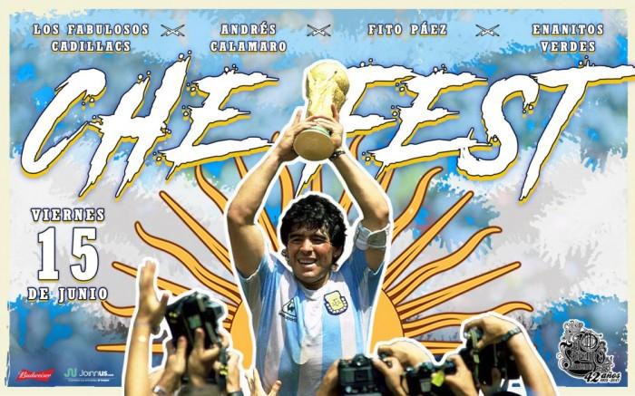 CHE FEST vol. 6: Un homenaje al rock argentino /  / Joinnus