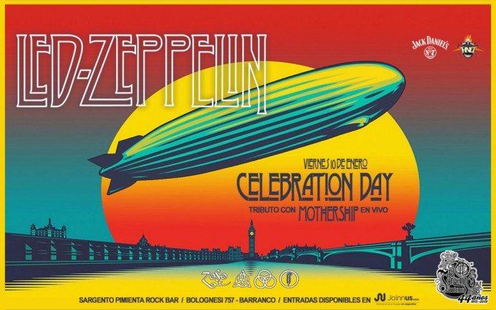 Celebration Day Tributo A Led Zeppelin Con Mothership