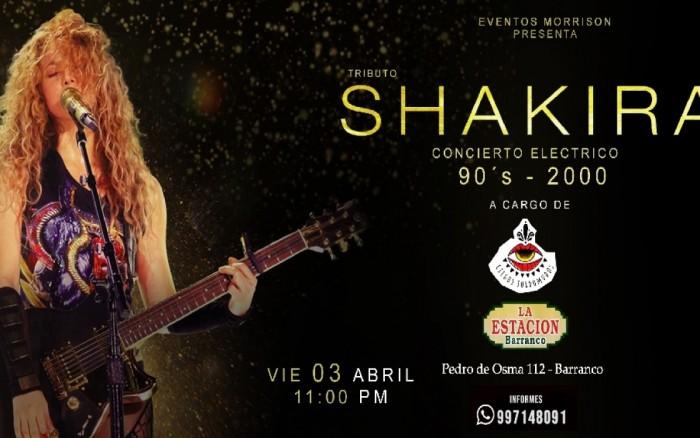 """Homenaje a Shakira - """"Estoy Aquí"""" 25 años después"""
