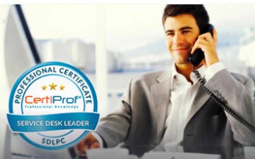 "CURSO ONLINE Autoestudio ""Service Desk Leader Professional"""