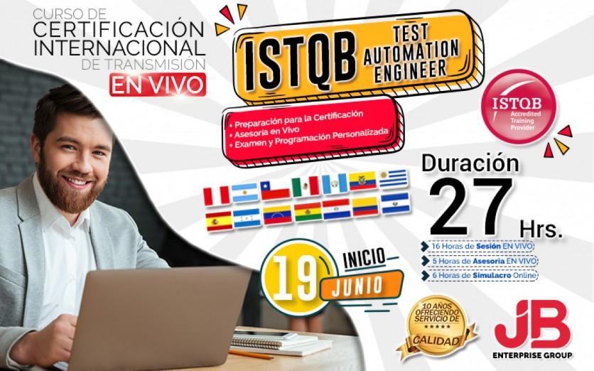 CURSO DE TRANSMISIÓN EN VIVO: ISTQB Advanced Level Test AuT.