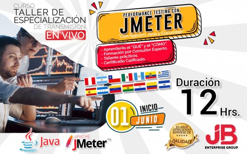 CURSO DE TRANSMISIÓN EN VIVO: Performance Testing con JMeter