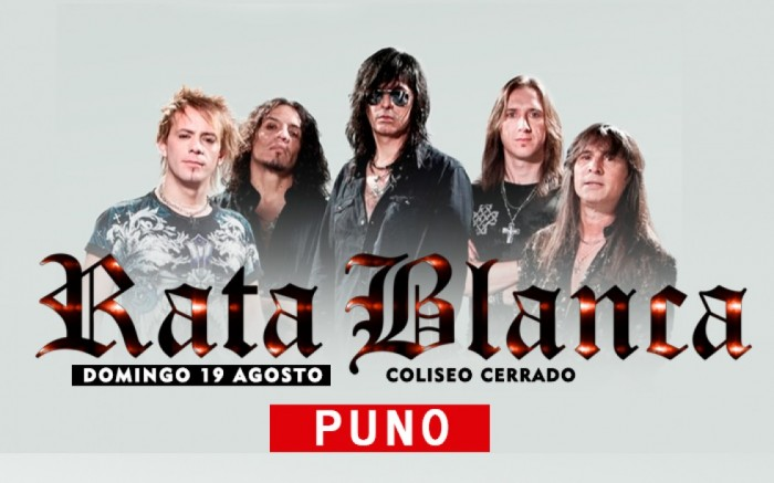Rata Blanca en PUNO /  / Joinnus