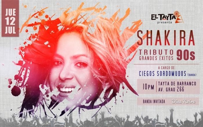 Tributo Shakira: ¡Grandes éxitos de los 90s!