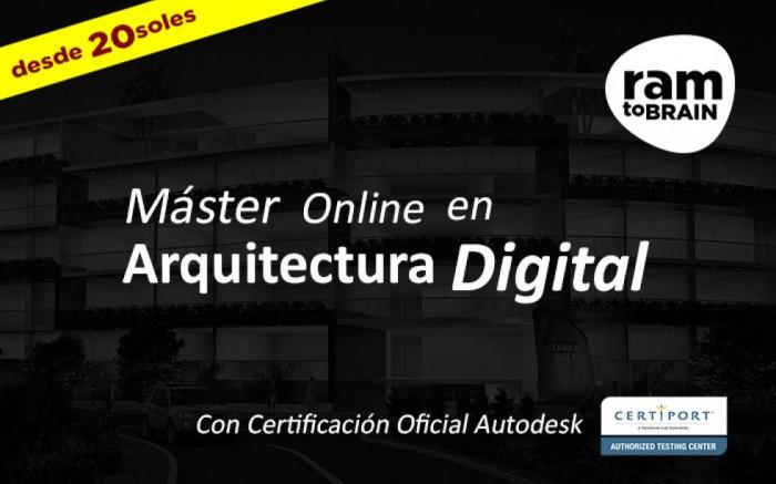 Master Online En Arquitectura Digital