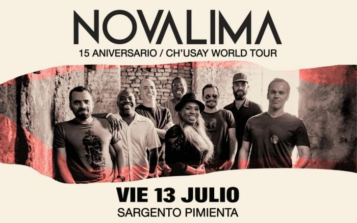 NOVALIMA 15 Aniversario World Tour! /  / Joinnus