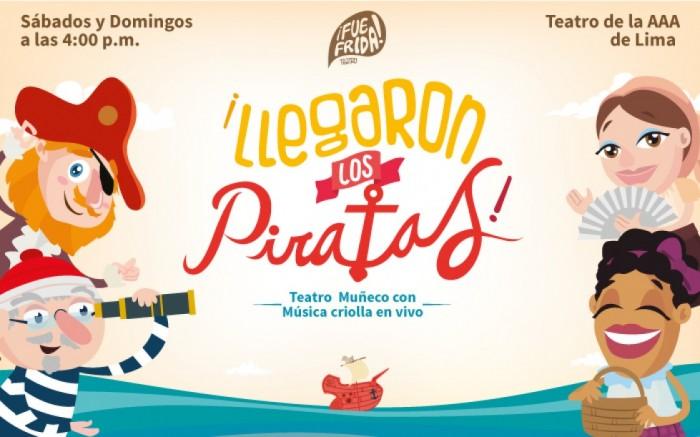 ¡Llegaron los piratas! Teatro Muñeco