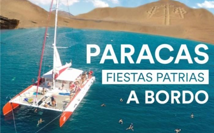 Paracas en Yate - Fiestas Patrias