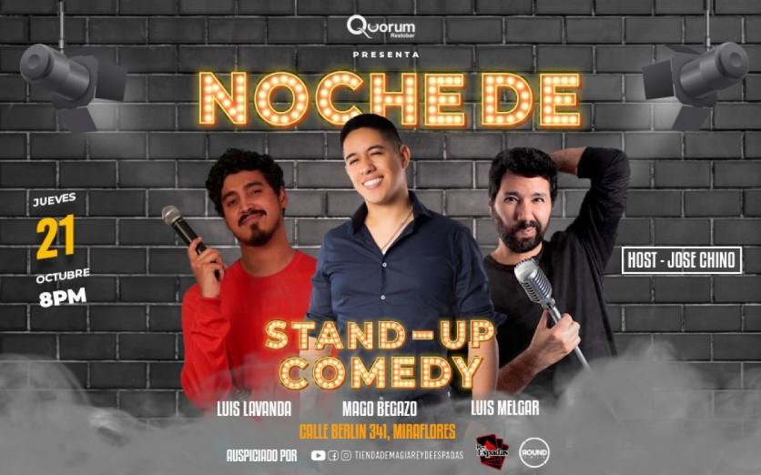 NOCHE DE STAND-UP COMEDY