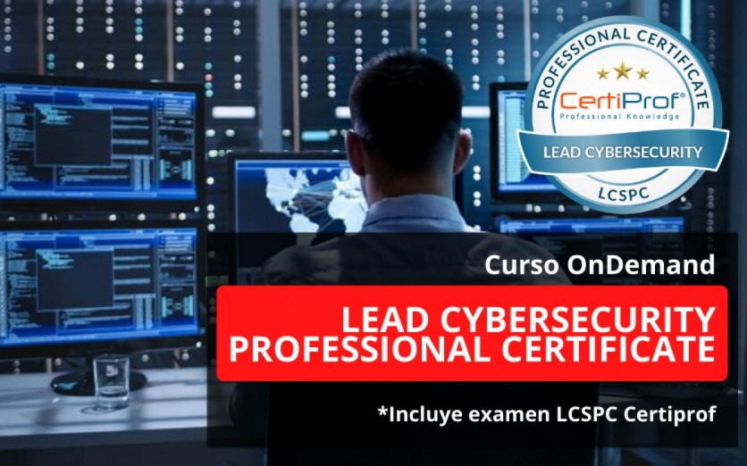 Curso Ondemand Lead Cybersecurity Professional Certificate