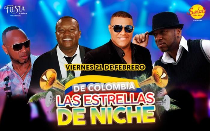 Las estrellas de Niche, Salsas Bar And Grill, Fiesta Casino