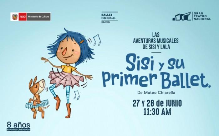 Sisi y su primer ballet - Gran Teatro Nacional