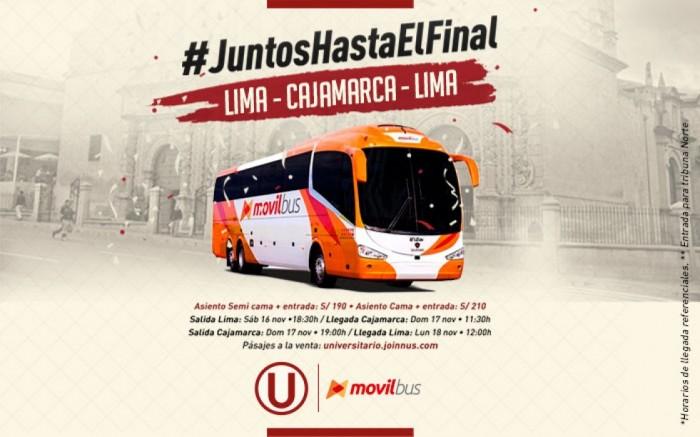 Promoción Movil Bus: #JuntosHastaElFinal