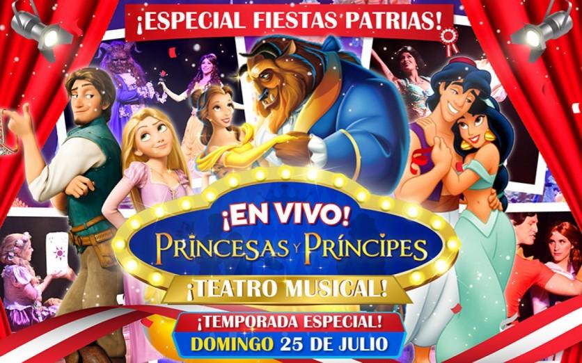 PRINCESAS Y PRINCIPES - EL MUSICAL EN VIVO
