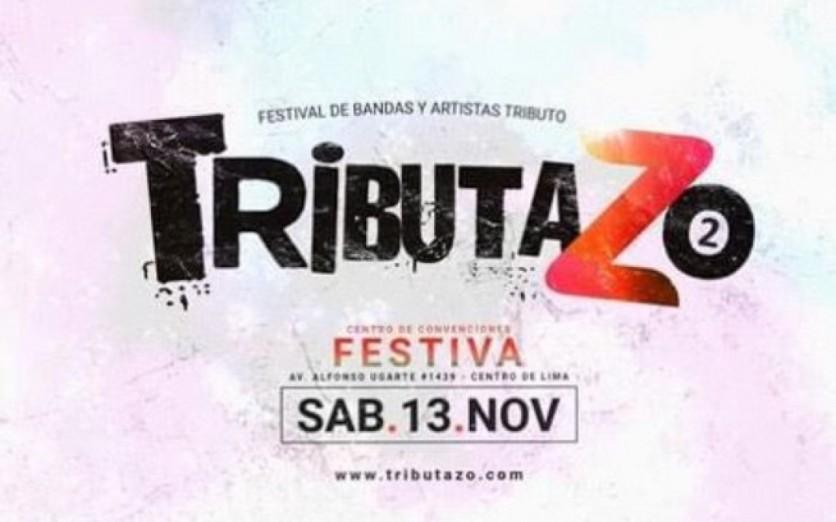 TRIBUTAZO FEST - CC. FESTIVA - SAB 13 NOV