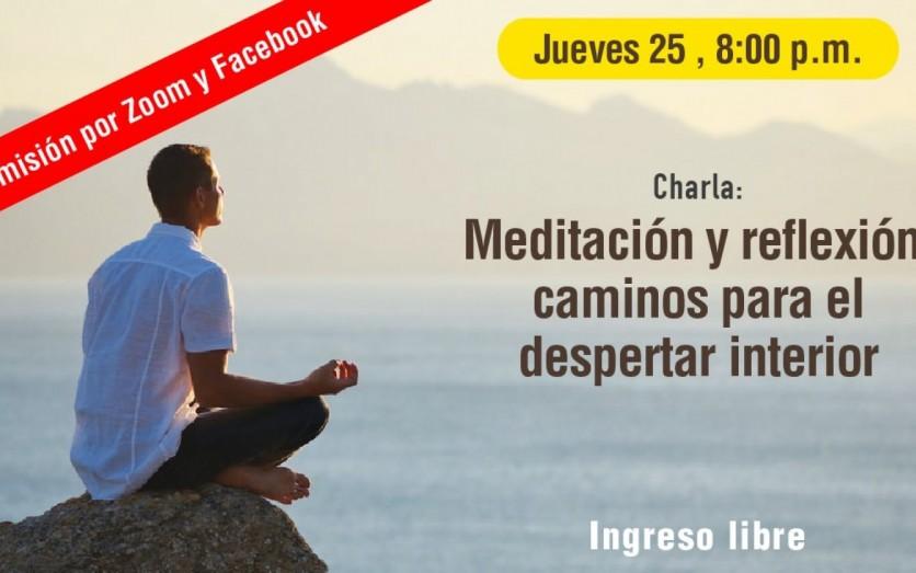 Meditación y Reflexión: caminos para el despertar interior