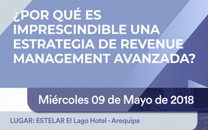 Estrategia de Revenue Management Avanzada - AREQUIPA /  / Joinnus