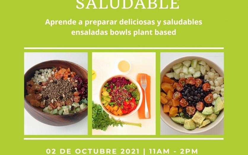 Taller de Cocina Saludable Plant Based