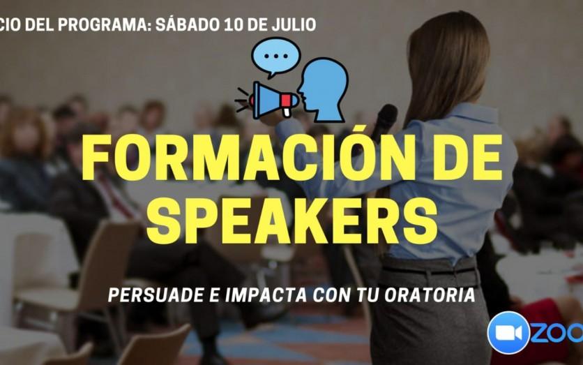FORMACIÓN DE SPEAKERS (Programa de Oratoria)