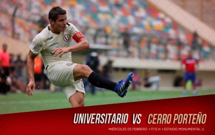 Universitario vs. Cerro Porteño (Copa Libertadores)