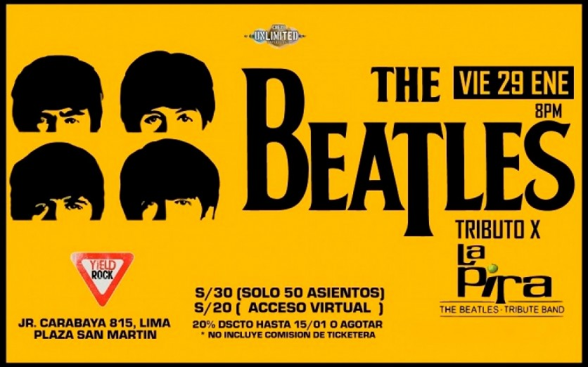 THE BEATLES (Tributo x La Pira) 29/01